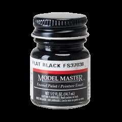 Model Master 1749 Flat Black FS37038 - farba