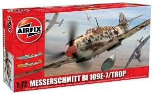 Model Messerschmitt BF109E Tropical Airfix 02062