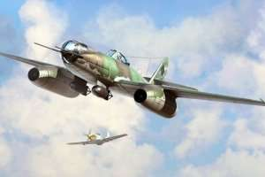 Model Messerschmitt Me262 A-2a/U2 Hobby Boss 80377