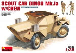 Model MiniArt 35087 pojazd zwiadowczy Dingo Mk.1a z załogą