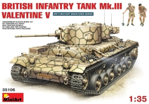 Model MiniArt 35106 Mk.III Valentine Mk5