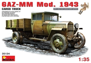 Model MiniArt 35134 GAZ-MM. mod.1943 cargo truck