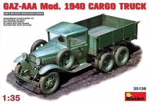 Model MiniArt 35136 GAZ-AAA mod.1940 cargo truck