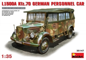 Model MiniArt 35147 L1500A (Kfz.70) personnel car