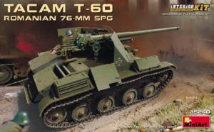 Model MiniArt 35240 niszczyciel czołgów 76mm SPG Tacam T-60 z wnętrzem
