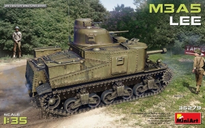 Model MiniArt 35279 czołg Lee M3A5