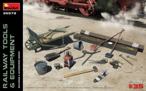 Model MiniArt 35572 Railway Tools & equipment
