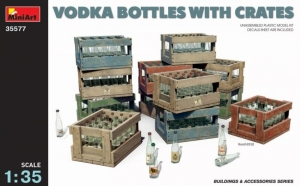 Model MiniArt 35577 Vodka Bottles with crates