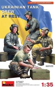 Model MiniArt 37067 Ukraińscy czołgiści