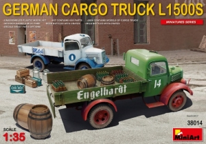 Model MiniArt 38014 German Cargo Truck L1500S type