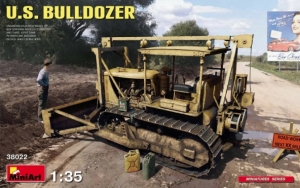 Model MiniArt 38022 U.S. Bulldozer