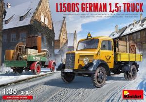 Model MiniArt 38051 Niemiecka ciężarówka L1500S