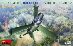 Model MiniArt 40009 Focke Wulf Triebflugel (VTOL) Jet Fighter