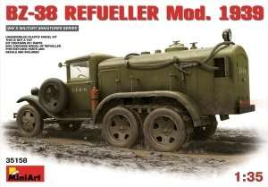 Model Miniart 35158 cysterna BZ-38 mod. 1939