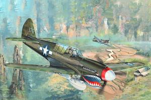 Model P-40N Kitty Hawk 02212 Trumpeter