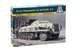 Model Panzerwerfer 42 auf Sd.Kfz. 4/1 Italeri 6546