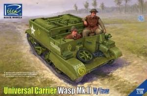 Model Riich RV35036 Universal Carrier Wasp Mk.II z załogą