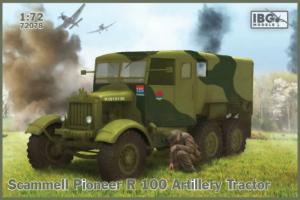 Model Scammell Pioneer R 100 ciągnik artyleryjski IBG 72078