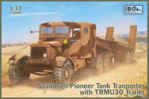 Model Scammell Pioneer z naczepą TRMU30 IBG 72080