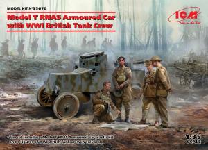 Model T RNAS Armoured Car model ICM 35670