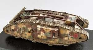 Model Takom 2009 Heavy battle tank Mark IV Female