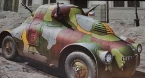 Model Takom 2024 WWII Skoda PA-II Turtle