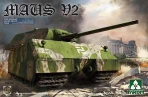Model Takom 2050 ciężki czołg Maus v2