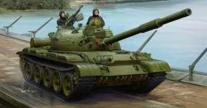 Model Trumpeter 01552 czołg T-62 mod. 1975 (1972+KTD2)
