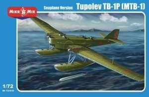 Model Tupolev TB-1P (MTB-1) floatplane Mikromir 72-010