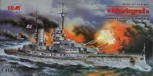 Model WWI German Battleship Markgraf ICM S005