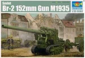 Model armaty 152mm BR-2 Trumpeter 02338