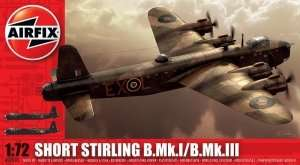 Model bombowca Short Stirling Mk.I/III Airfix 07002