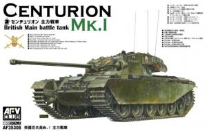 Model brytyjskiego czołgu Centurion Mk I AFV35308