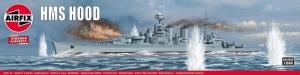 Model brytyjskiego krążownika HMS Hood Airfix 04202