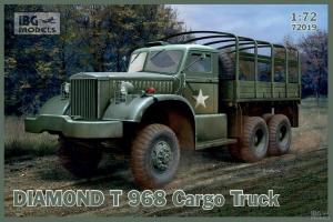 Model ciężarówki wojskowej Diamond T 968 IBG 72019