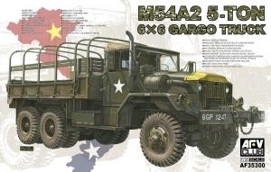 Model ciężarówki wojskowej M54A2 6x6 5ton AFV Club AF35300
