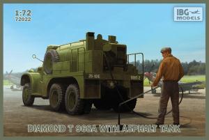 Model cysterny z asfaltem Diamond T968A IBG 72022