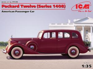 Model cywilnego samochodu Packard Twelve ICM 35536