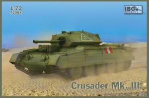 Model czołgu pościgowego Crusader Mk. III IBG 72068