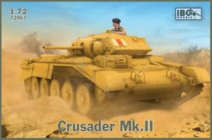 Model czołgu Crusader Mk.II IBG 72067