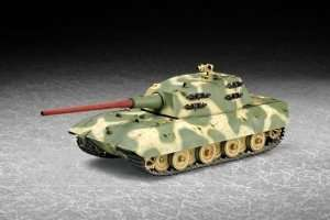 Model czołgu E-100 w skali 1-72 Trumpeter 07121