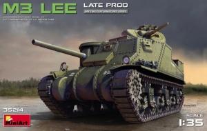 Model czołgu M3 Lee wersja późna MiniArt 35214