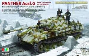 Model czołgu Panther G z wnętrzem - limitowana edycja RFM RM-5016
