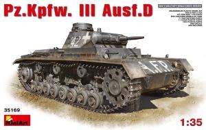 Model czołgu Pz.Kpfw. III Ausf. D MiniArt 35169