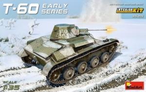 Model czołgu T-60 z wnętrzem MiniArt 35215