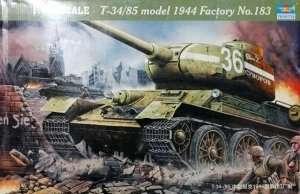 Model czołgu T34-85 Trumpeter 00902