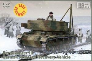 Model czołgu wsparcia technicznego Bergepanzer III IBG 72059
