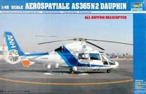 Model helikoptera AS365N2 Dauphin - Trumpeter 02819