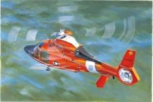 Model helikoptera HH-65C Dolphin Trumpeter 05107