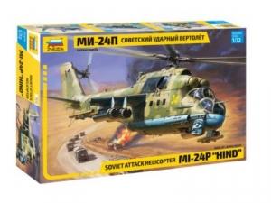 Model helikoptera MI-24P Hind Zvezda 7315